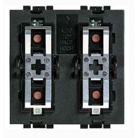 Comando scs 2 actuadores  2 módulos Bticino LivingLight L4652/2