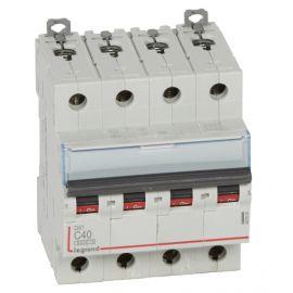 Interruptor Automático Magenotérmico DX3 6/10 Ka Curva C 4P 40A Accesoriable