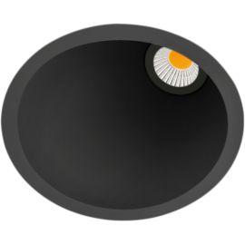 Arkos Light Empotrable Swap M Asym 7W 3000K Negro Reg. Corte Fase A2162221N