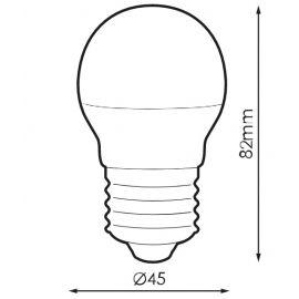 Lámparas LED con casquillo E27 PRILUX Bombilla LED Essence Basic 5W 850 luz fría Prilux