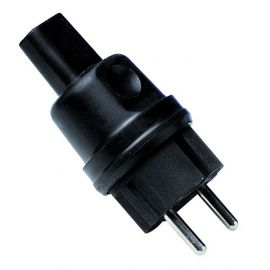 Clavija bipolar para cable rectangular 5X11 mm