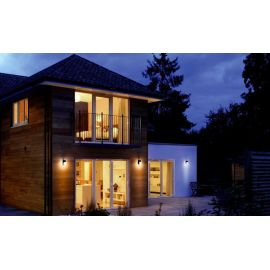 Apliques de exterior LED LEDVANCE Aplique de pared Ledvance Outdoor LED Facade Spot 8W 3000K Gris