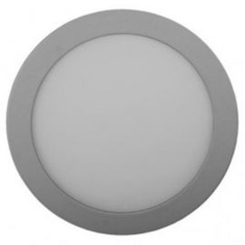 Downlight LED 22W aluminio Ø220mm luz fría 6000ºk Jiso