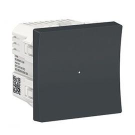 Interruptor Wiser antracita Schneider New Unica NU353754