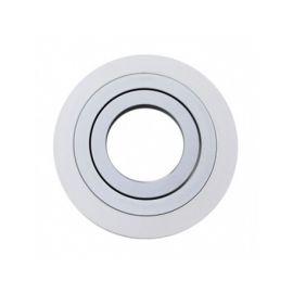 Aro Empotrar Aluminio Orientable Blanco Técnico 703D-90