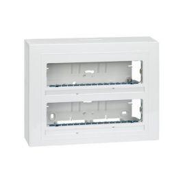 Pack caja superficie 2 filas 8 elementos Simon 27 Cent. 27732-65