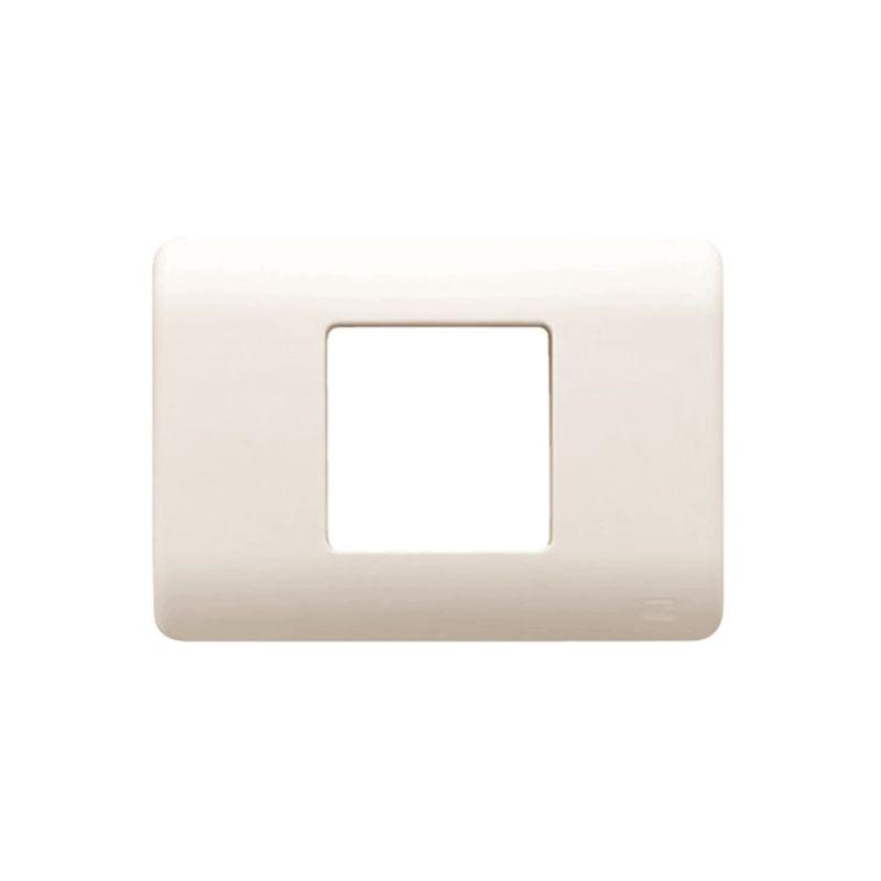 Interruptores y Enchufes por marca BJC Marco caja americana 2 modulos estrechos beige BJC Sol Teide 16352-A