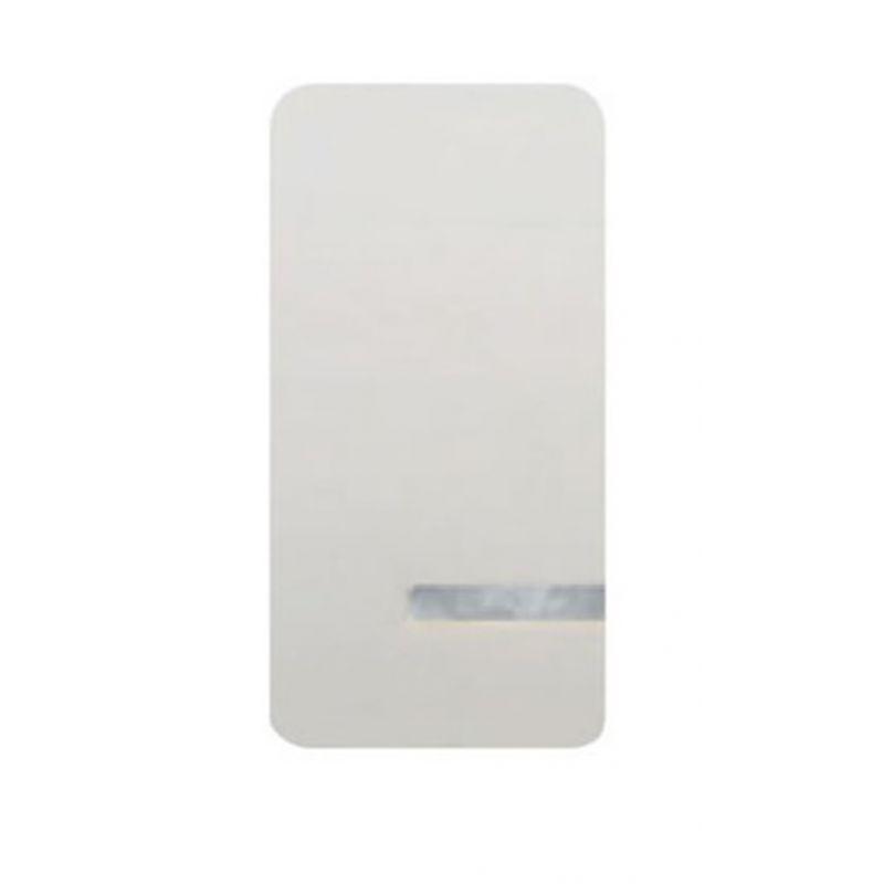 Interruptores y Enchufes por marca BJC Tecla interruptor estrecho blanco con luminoso  BJC Sol Teide 16705-L