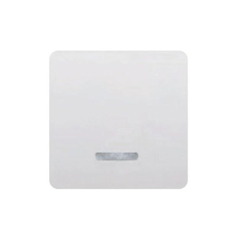 Interruptores y Enchufes por marca BJC Tecla interruptor ancho blanco con luminoso BJC Sol Teide 17705-L