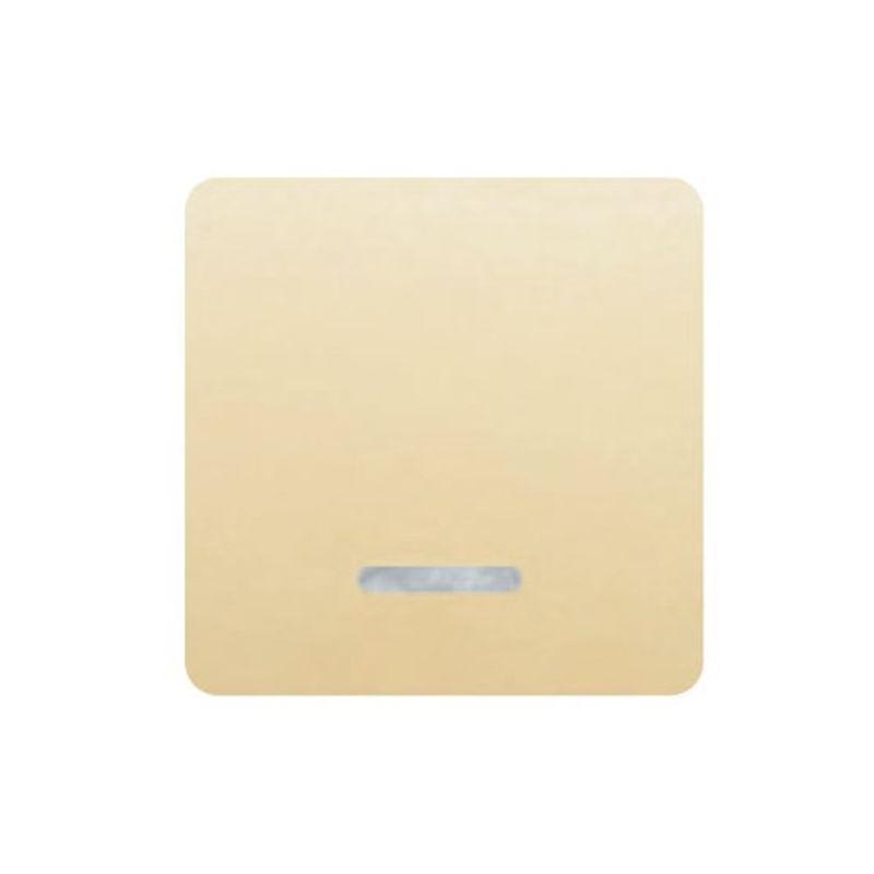 BJC Sol Teide BJC Tecla interruptor ancho beige con luminoso  BJC Sol Teide 17705-AL