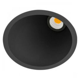 Aro LED Swap M 5W 3000K asimétrico negro Arkoslight