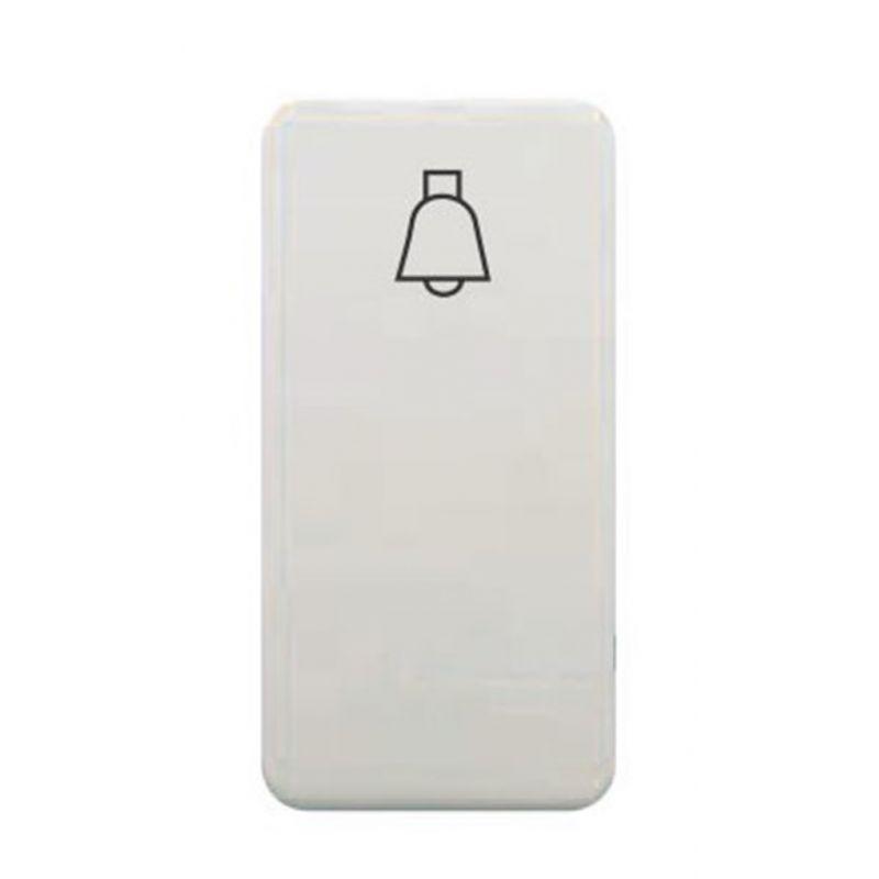 Interruptores y Enchufes por marca BJC Tecla pulsador campana estrecho blanco BJC Sol Teide 16716