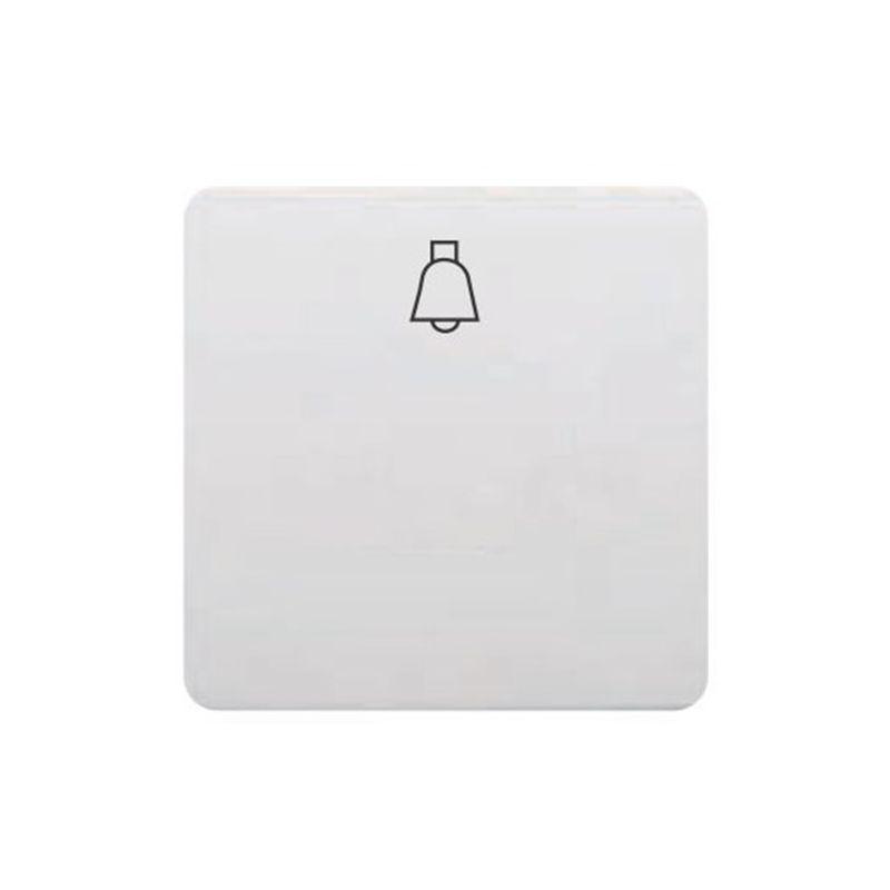 Por Marca BJC Tecla pulsador campana ancho blanco BJC Sol Teide 17716