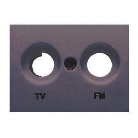 Tapa toma TV-FM gris lava BJC Coral 21330-GL