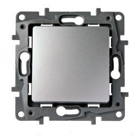Interruptor-Conmutador Aluminio Legrand Niloe 665301