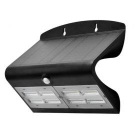 Aplique pared solar de exterior IP65 6,8W 840 800lm Negro de Prilux