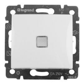 Conmutador Blanco luminoso Legrand Valena 774426
