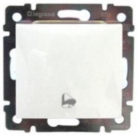 Pulsador Blanco grabado timbre Legrand Valena 774216