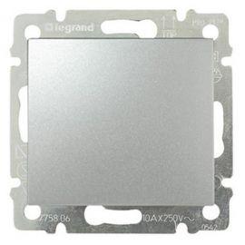 Pulsador Aluminio Brillante Legrand Valena 770111