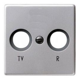 Tapa TV-R Alumino Brillante Legrand Valena 770265