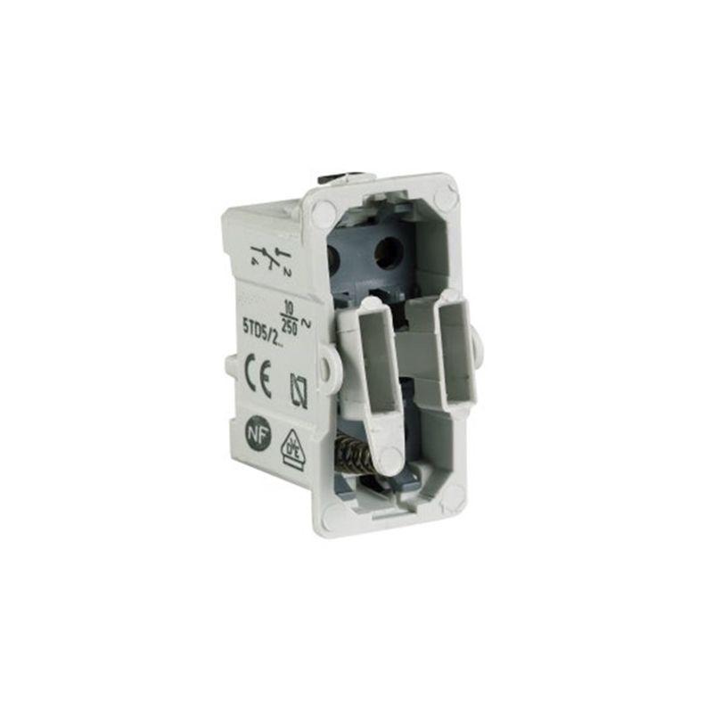 Interruptores y Enchufes por marca BJC Interruptor unipolar BJC series Sol, Coral y Rehabitat 16505