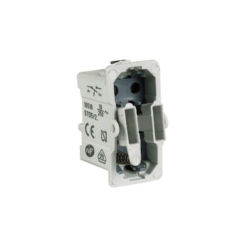 Interruptores y Enchufes por marca BJC Pulsador BJC series Sol, Coral y Rehabitat 16516