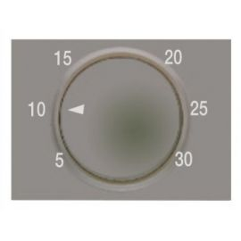 Tecla termostato electrónico gris sombra BJC Coral 21744-GS