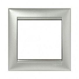 Marco 1 elemento aluminio Valena Legrand 770151