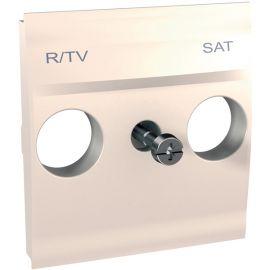 Tapa toma R-TV/SAT Marfil Schneider Unica U9.441.25