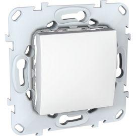 Interruptor ancho Blanco con bastidor Schneider Unica U5.201.18