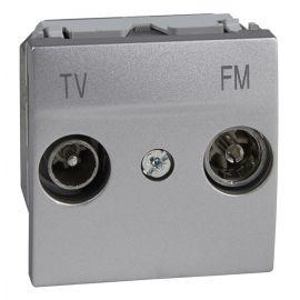 Toma TV/FM Final Aluminio Schneider Unica-Top U3.452.30