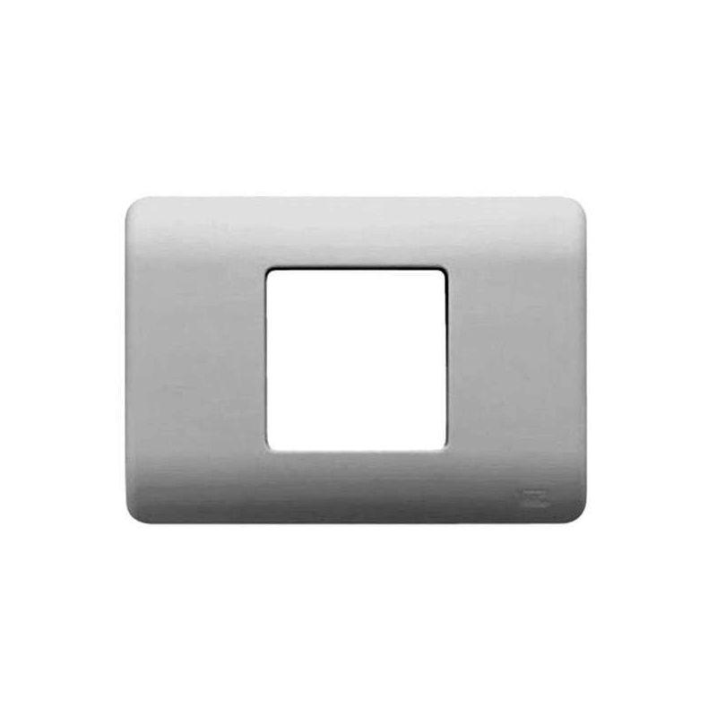 Por Marca BJC Marco caja americana 2 modulos estrechos plata BJC Sol Teide 16352-PL