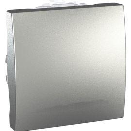 Pulsador ancho Aluminio Schneider Unica-Top U3.206.30