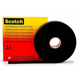 Cinta Vulcanizada autosoldable Scotch 23 9,15m x 19 mm de 3M