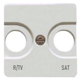 Tapa toma R/TV-SAT blanco BJC Sol Teide 16320