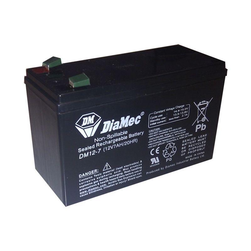 Protección contra incendios GOLMAR Batería recargable 12V 7Ah Golmar BAT-7A