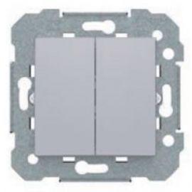 Interruptor doble Plata Luna BJC Viva 23509-PL