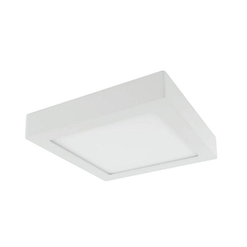 Plafones Led cuadrados PRILUX Downlight superficie cuadrado Blanco 24W 4000K Breno Prilux