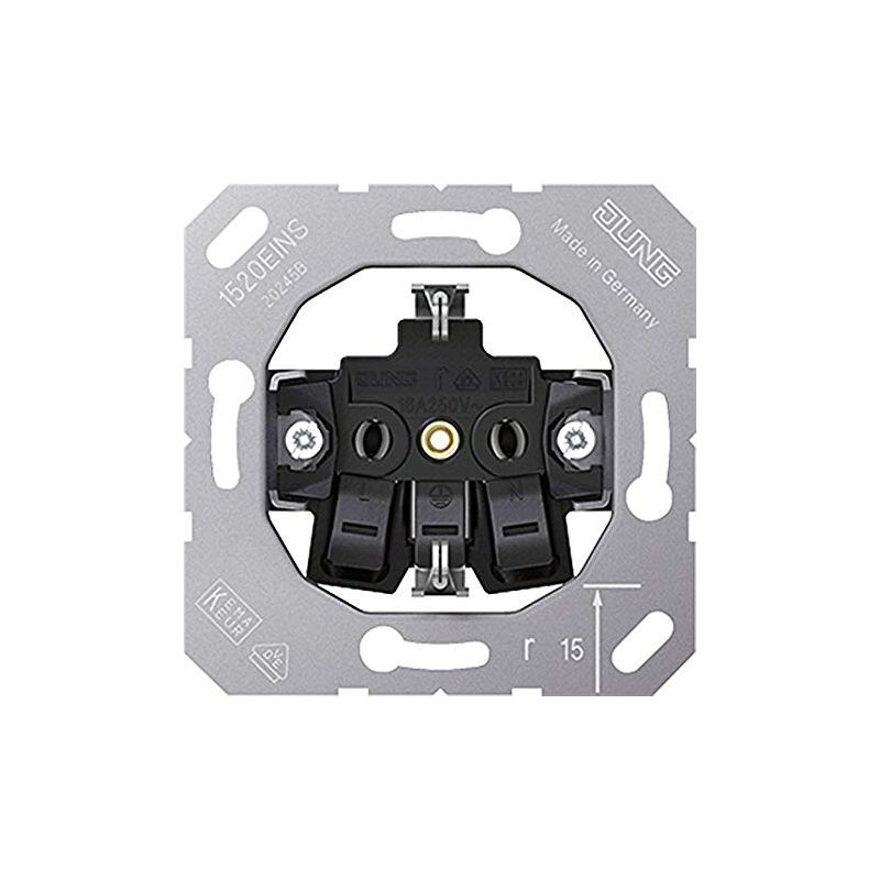 Interruptores y Enchufes por marca JUNG Base enchufe schuko Jung serie LS990 1520EINS