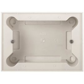 Zócalo superficie 3 módulos Blanco Niessen Zenit N2993 BL