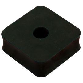 Pastilla Silentblock amortiguador de caucho PA-40 (50x50x25mm)