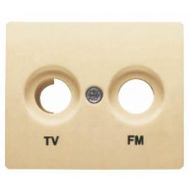 Tapa toma TV/FM Dorado Odisea BJC IRIS 18330-OD