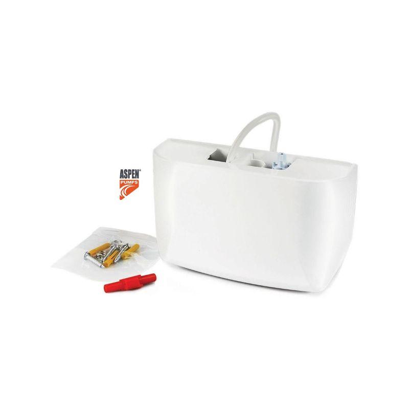 S.A. CHARMEX, S.A. Bomba de Condensados Aspen Mini Blanc para Aire Acondicionado