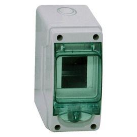 Minicofret Kaedra estanco IP65 1 fila 2+1 módulos Schneider 13975
