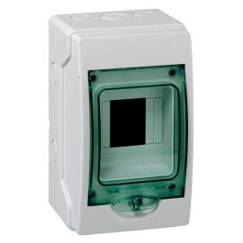 Minicofret Kaedra estanco IP65 1 fila 4 módulos Schneider 13976