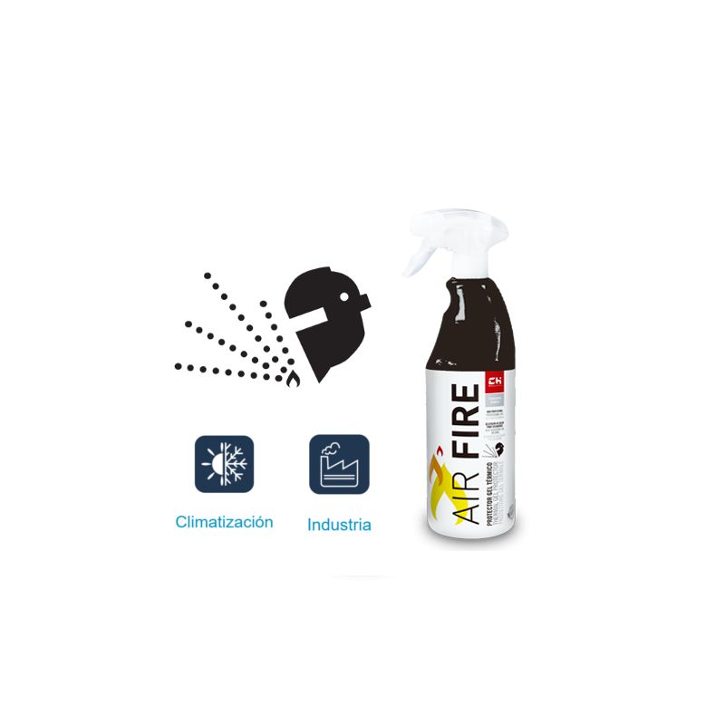 Por Marca CH QUIMICA, S.L. Air Fire Disipador y Protector para Solduras Pulverizador 750 ml