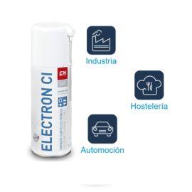 Aerosol Electron CI SP limpiador Equipos Electrónicos gas inerte y seco Bote Spray 400ml