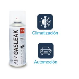 Air Gasleak Detector de Fugas de gas y Aire Comprimido Bote 400ml