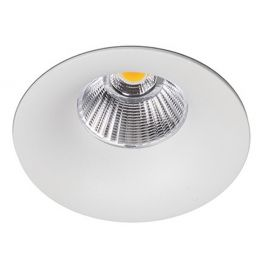 Aro led Luxo estanco IP65 blanco 12W 3000K de Kohl Lighting K50153.W.3K