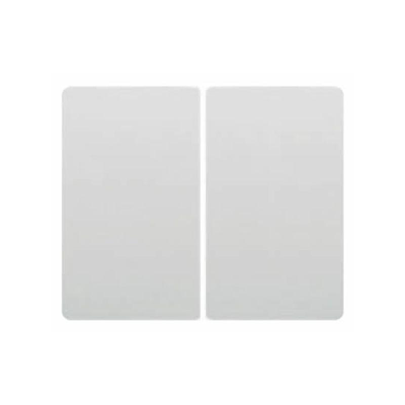 Interruptores y Enchufes por marca BJC Doble tecla interruptor-conmutador-pulsador Blanco BJC Iris 18709